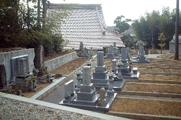 写真:妙福寺墓地