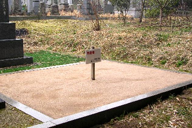 写真:檜山墓苑