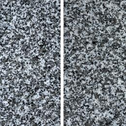 大島石:特上級『秀』(左)・『美』(右)